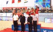 中国队获世界残疾人沙滩排球国际赛女子组冠军