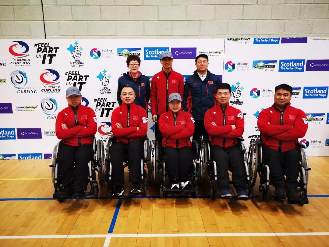 中国轮椅冰壶队首获世锦赛冠军
