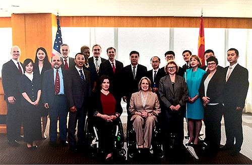 第五届中美残疾人事务协调会在华盛顿成功举办