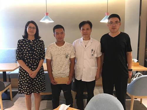 启东市残联看望慰问残疾人运动员 新闻资讯 第4张