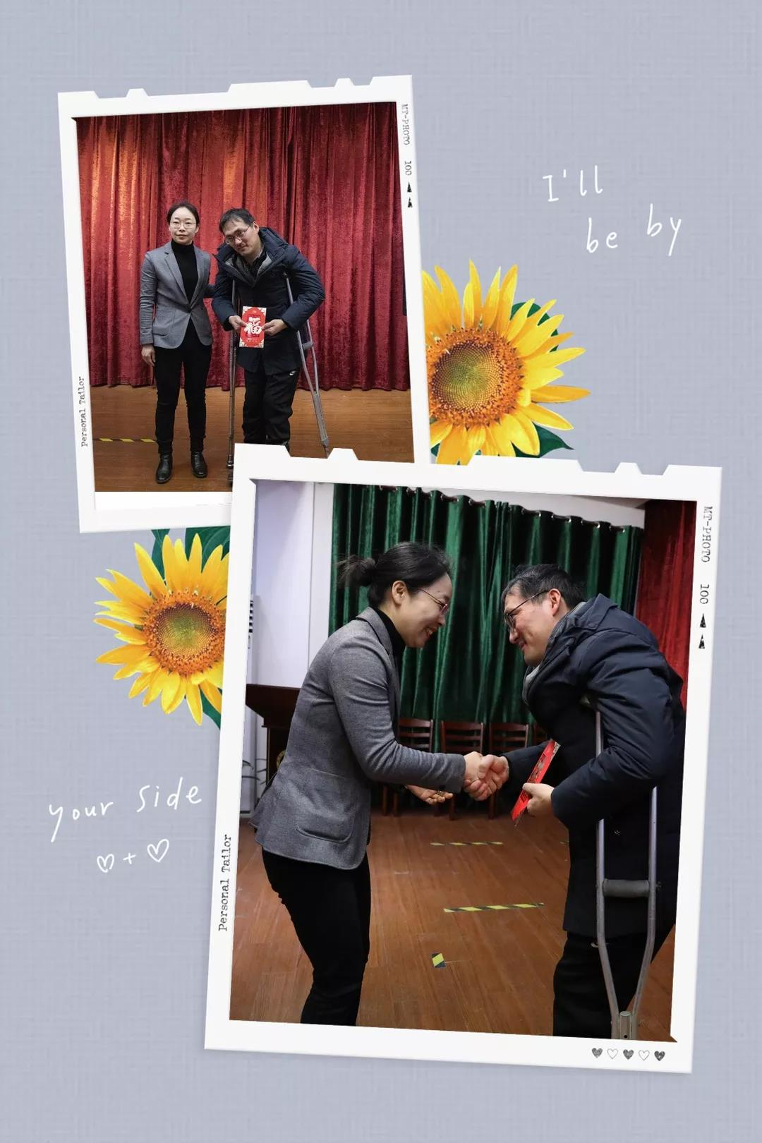 爱心助残 情暖人间-寅睿公司购买陈泉纯手工花灯捐赠给特校学生