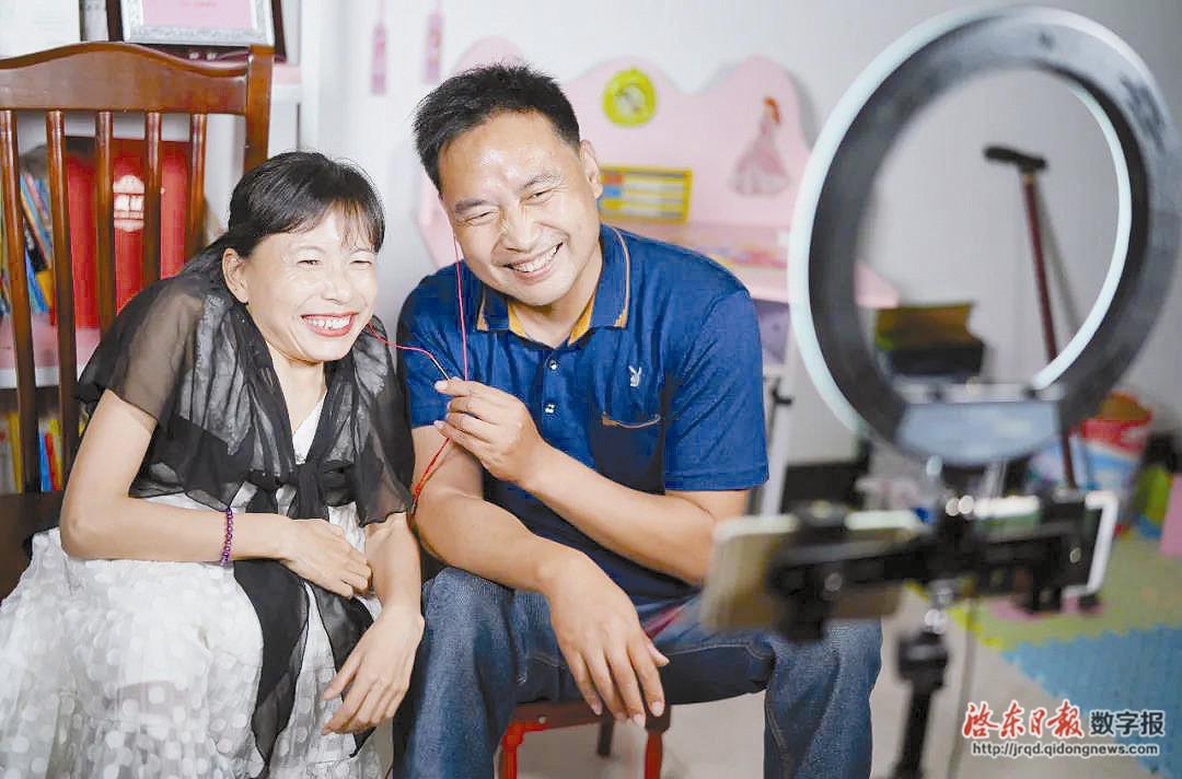 苏晓琳兑现承诺:把肢残人协会带上央视舞台