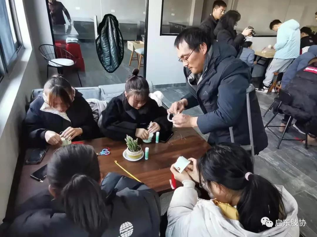 启东肢协优秀代表走进江苏农牧科技职业学院